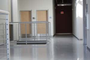 """Resinyte™ Solid Color """"SC"""" System in a office building"""