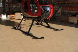 "Resinyte™ Urethane ""U"" System in helicopter hanger"