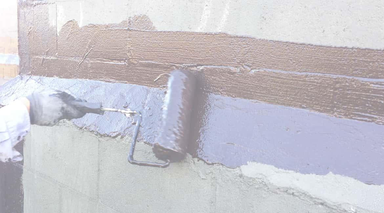PMA Application on concrete wall