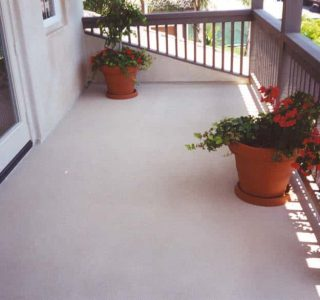 waterproofing a balcony deck