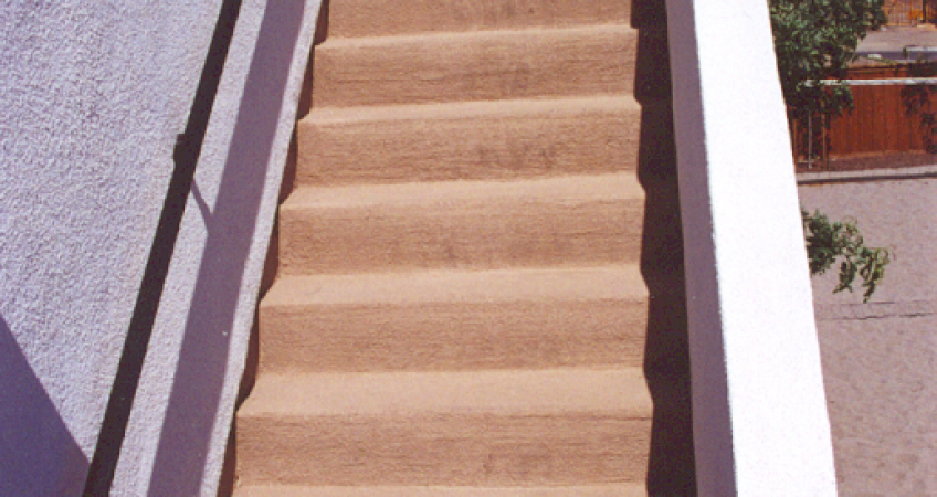 Waterproofing a staircase correctly