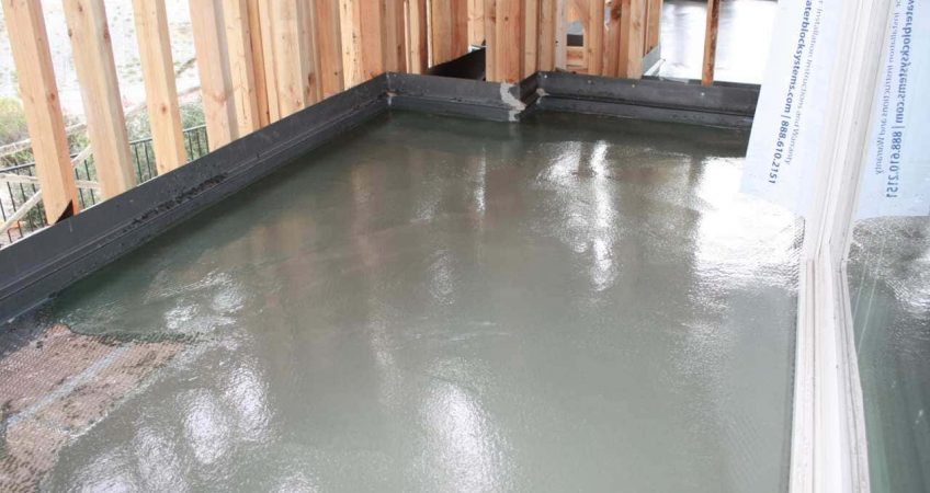 Murrieta Ca Job with water proof deck coating