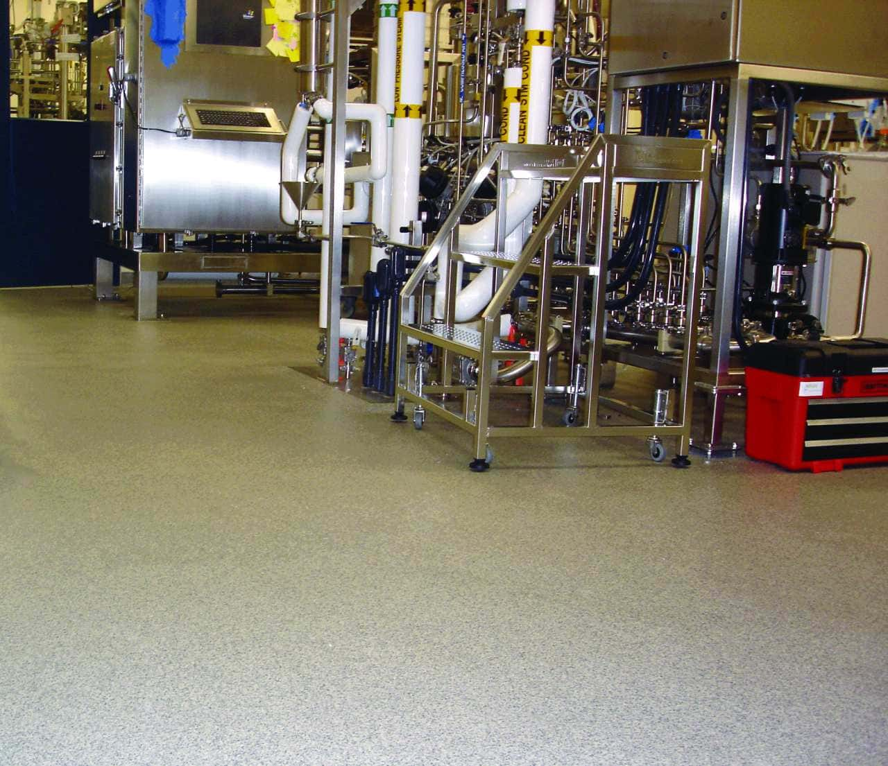 Epoxy floors are a tough, resilient and very durable type of floor coating