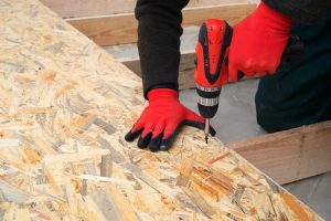 OSB board is Oriented strand board, or flakeboard