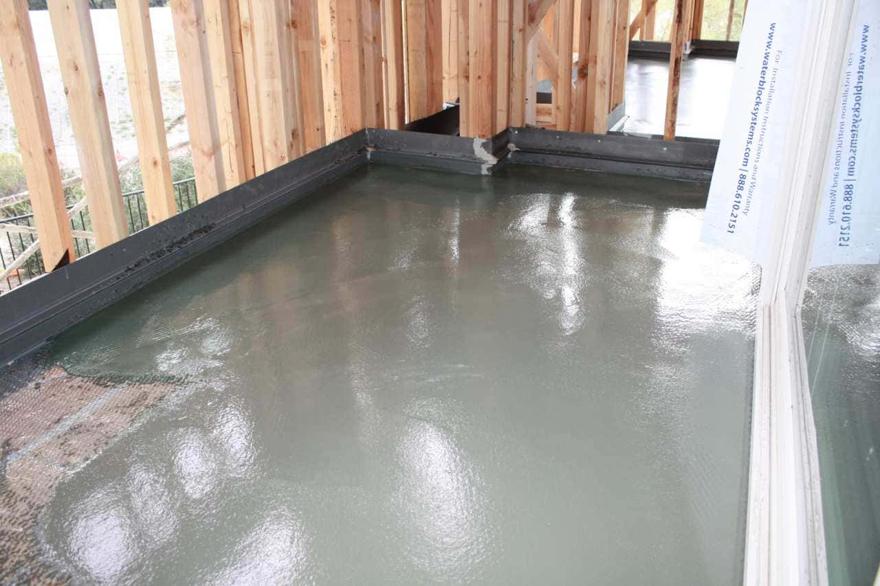 Murrieta Ca Job with water proof deck coating