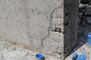 waterproofing concrete: concrete erosion from water damage