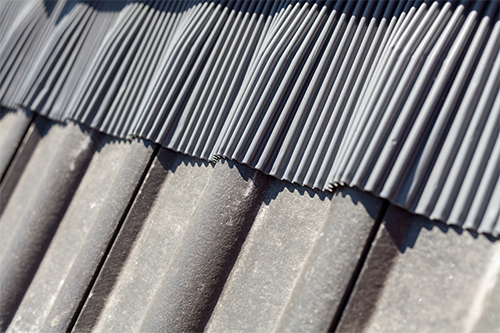 metal flashing roof