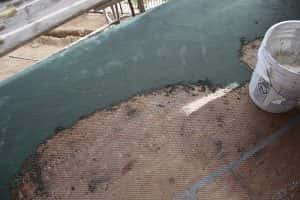Typical Waterproof System Installation Setbacks