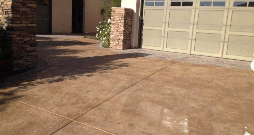Concrete Coating Driveway