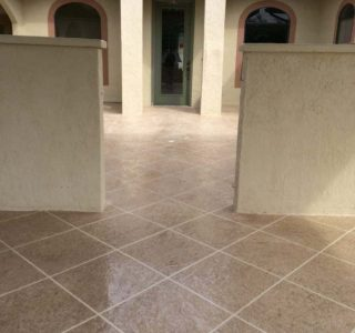 Protect tile by waterproofing first