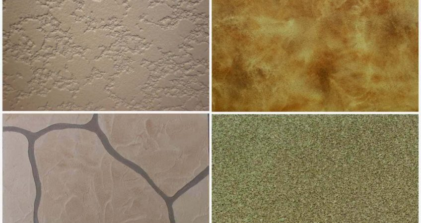 Finish Texture Options for a Waterproofing System