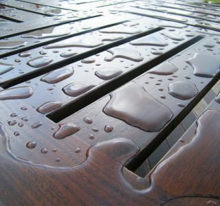 deck slope to improve outdoor deck lifespan